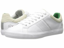 Size 12 & 13 LACOSTE Leather Mens Sneaker Shoe! Reg$150 Sale$69.99 - $69.99
