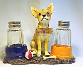 El Caliente (Dog Salt & Pepper Shaker Set) - $31.66