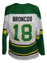 Any Name Number Humboldt Broncos Junior Hockey Jersey White Any Size image 2