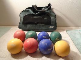 Vintage SPORTCRAFT AVTA BOCCE BALL GAME SET - $29.99