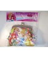 Disney Princess Rapunzel, Ariel Cinderella & Belle Gamaguchi Coin Purse ... - $7.60
