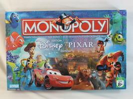 Monopoly Disney Pixar 2007 Collectors Edition Board Game 100% Complete B... - $33.97