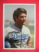 1981 TOPPS Steve Garvey 5 x 7 Collector Card LA Dodgers - $6.92