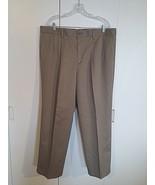 DOCKERS MEN'S LIGHT BROWN KHAKI PANTS-100% COTTON-38x29.5-BARELY WORN-SO... - $7.91