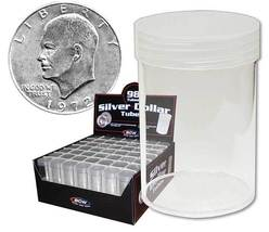 Coin Collecting Supplies For Round Large Dollar Coin storage tubes (Qty=... - $6.95