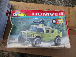 Revell Army Humvee 1/25 scale rough box - $11.99