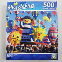 LPF Puzzlebug Cra-Z-Art Fun Shaped Hot Air Balloons 18.25x11 age 9+ 500 pc - $3.59