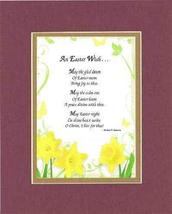 Touching and Heartfelt Poem for Easter - An Easter Wish. Poem on 11 x 14 inches  - $15.79