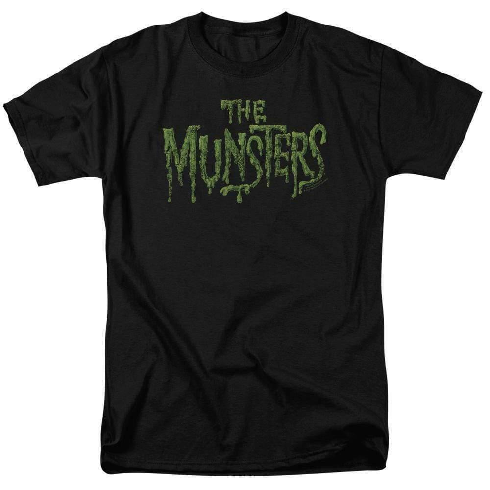 The Munsters logo t-shirt retro 60s comedy TV series graphic tee NBC767