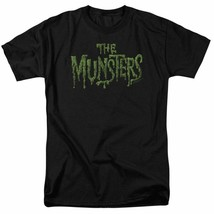 The Munsters logo t-shirt retro 60s comedy TV series graphic tee NBC767 image 1