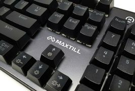 Maxtill G610KV2 Korean English Gaming Keyboard Outemu Switches (Red Switch) image 7