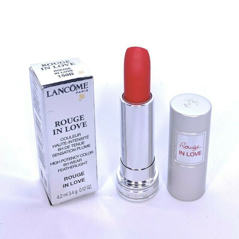 Primary image for Lancome Rouge In Love Lipstick 159B High Potency Color Featherlight 0.12oz NIB