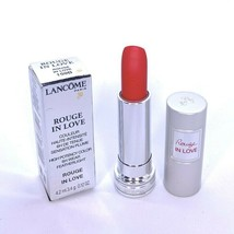 Lancome Rouge In Love Lipstick 159B High Potency Color Featherlight 0.12... - $29.60