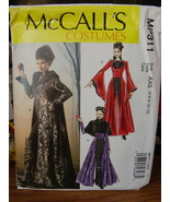 Sewing Pattern 311 Wicked Queen Costume Misses Sizes 4-12 UNCUT - $4.99