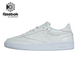 6e16f801681 Ladies Reebok Classics Womens Club C 85 Patent Trainers -  60.82