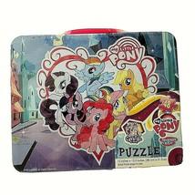"Cardinal My Little Pony  Puzzle Tin Lunch Box  48 Piece Kids Toys 15""x 1... - $11.87"