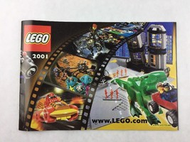 Lego Year of 2001 Advertisement Booklet Manual - $9.90