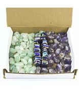 Tumbled Stone Collection 1.0lb Lots Green Aventurine Rainbow Hematite Am... - $48.95