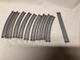 """(9) ATLAS 15""""R SNAP TRACK B CURVED (1) 9"""" Track A HO Scale - $8.90"""