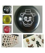 FNAF Five Nights At Freddy's Balloons & Stickers Lot of 29!  FREE Shipping! - $16.82