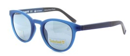 TIMBERLAND TB9128 91D Polarized Sunglasses BLUE 50-21-145 Gray Lenses + ... - $39.27