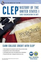 CLEP® History of the U.S. I Book + Online (CLEP Test Preparation) [Paper... - $14.01