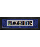 Personalized University of Memphis Campus Letter Art Framed Print - $39.95