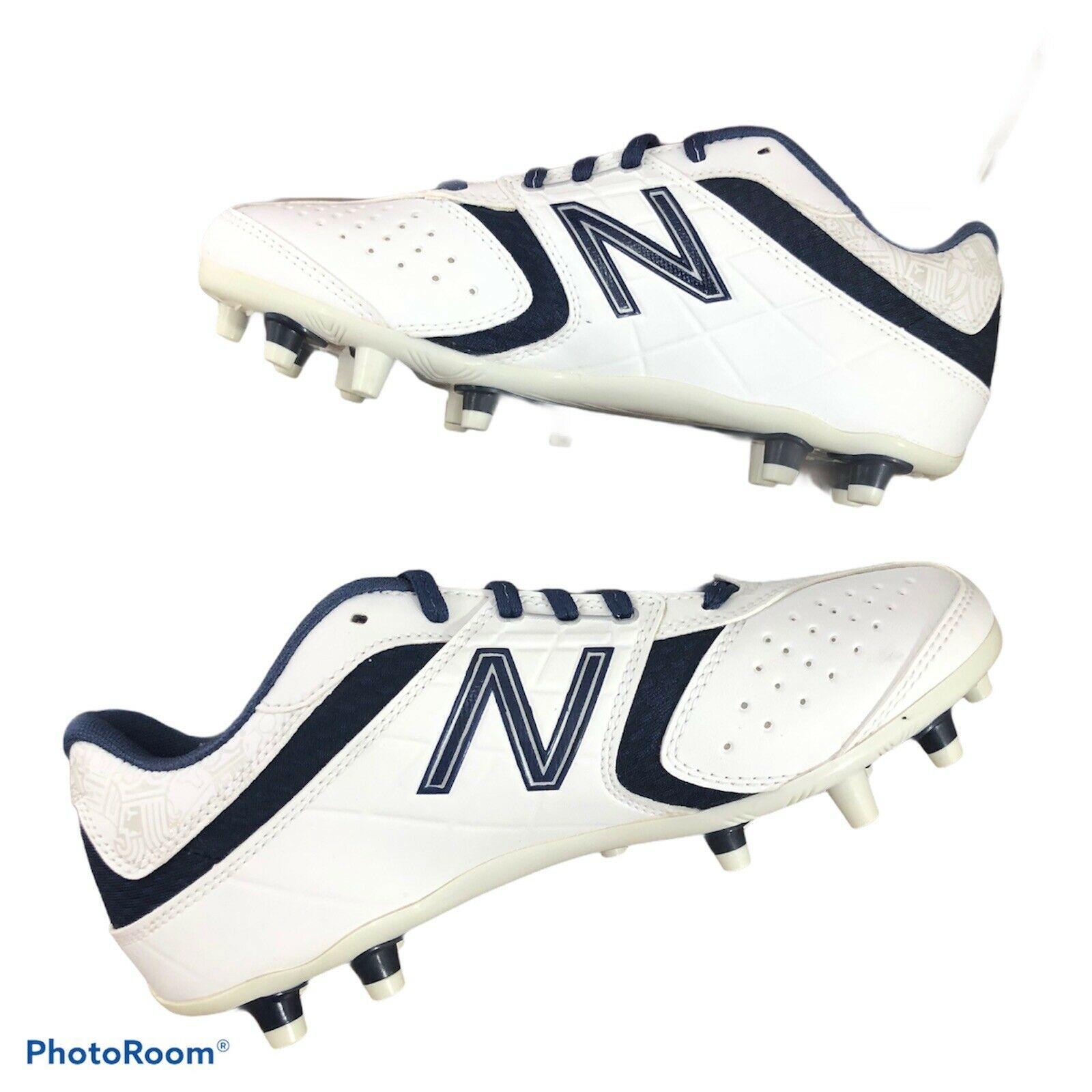 Primary image for Women's New Balance Lacrosse Lo-Cut 5464 Cleat Shoes Field Sports WF5464WN
