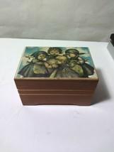 Reuge Swiss Movement Wood Music Box La Vie En Rose (read description) - $17.13