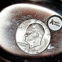 Eisenhower 1972 D Silver Dollar AA19$-CN6010 image 1