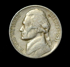 1951-S Jefferson Nickel (Circulated) Free Shipping - $2.59