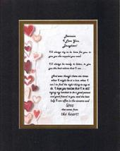 Touching and Heartfelt Poem for Daughters - Because I Love You Daughter ... - $15.79