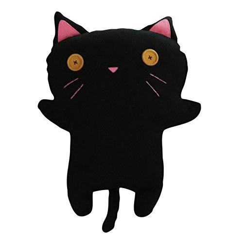 Primary image for Creative Handmade Doll Toy Decorative Doll Lovely Black CAT Doll, M, 22 Inches