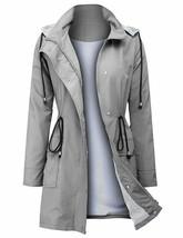ZEGOLO Women's Raincoats Windbreaker Rain Jacket Waterproof Hooded Outdo... - $37.28