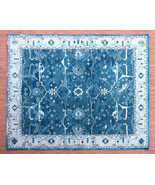 C & B Faded Blue Color Designs Handmade Tufted 100% Woolen Rugs & Carpets - $256.41+