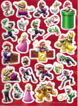 Super Mario Puffy Sticker Sheet  #704088MB
