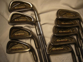 Tommy Armour 845 S Irons 2 - PW Stiff S 300 Steel Shaft  image 2