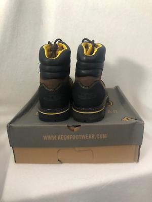 KEEN Men's Milwaukee WP Shoe (Steel Toe), Dark Earth, 9 image 2