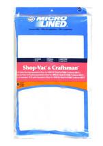 DVC ShopVac Multi-Fit 16 -22 Gallon Paper Vacuum Bags 3 Pack - $19.76