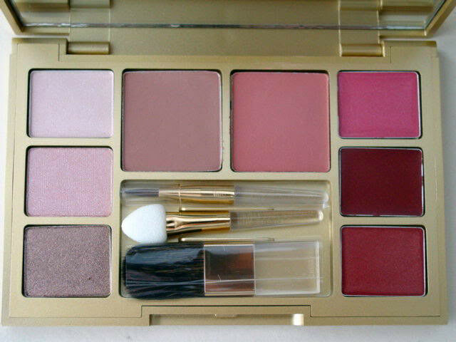 Primary image for 11 in 1 New Estee Lauder Makeup Palette ~Eyeshadow Blush Lipstick