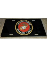 United States Marine Corps Front License Plate Aluminum. Made USA - $13.86