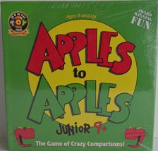 Apples To Apples Junior ~ The Crazy Game of Comparisons ~ New - $26.95