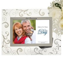 Enesco This Is the Day by Gregg Gift for Enesco Photo Frame, 25th Annive... - $34.67
