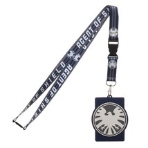 Agent of Shield Marvel ID Badge Holder Keychain Lanyard - $8.75