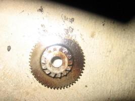 YAMAHA 1991 BIG BEAR 350 4X4 STARTER GEAR  (MET 20)  P-4610J  PART  7108... - $15.00