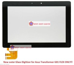 Glass Screen Digitizer Replacement for ASUS Transformer Eeepad TF300T-A1-BL G01 - $45.58