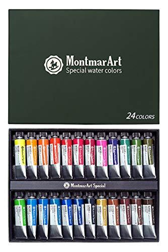 Montmar Art Special Artists Water Color 15ml 24 Colors Set
