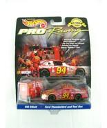 NEW Hot wheels Pro Racing Pit Crew 1998 #94 Bill Elliott Ford Taurus & T... - $16.77