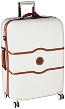 DELSEY Paris Luggage Chatelet Hard+ Large Checked Spinner Suitcase Hardc... - $291.97