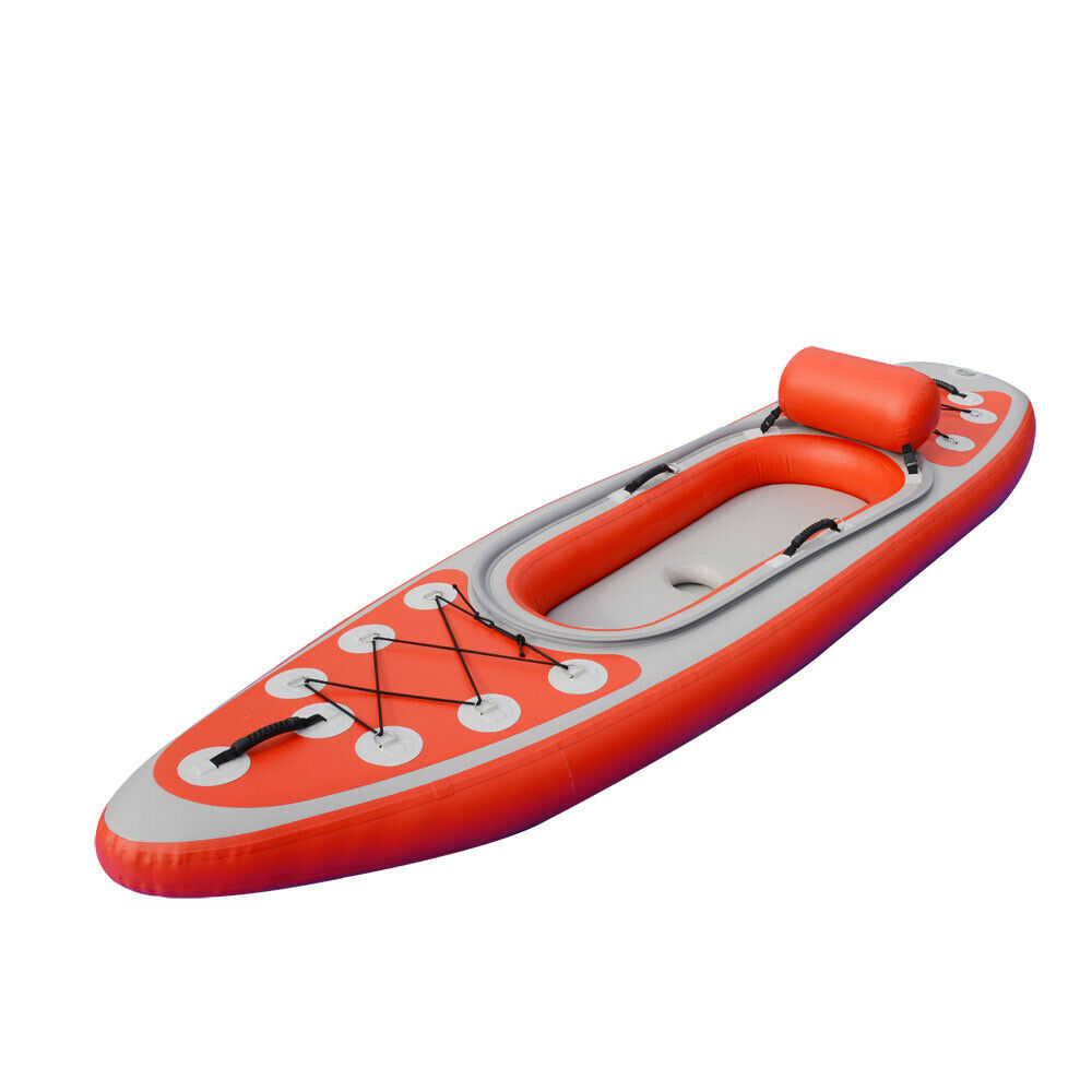 BRIS Inflatable High Pressure Kayak Canoe Boat One Person